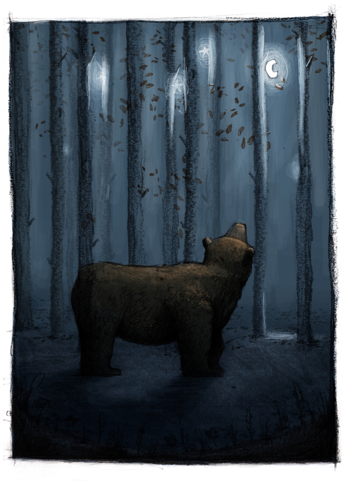 Jacob Stack, Bear and the Moon
