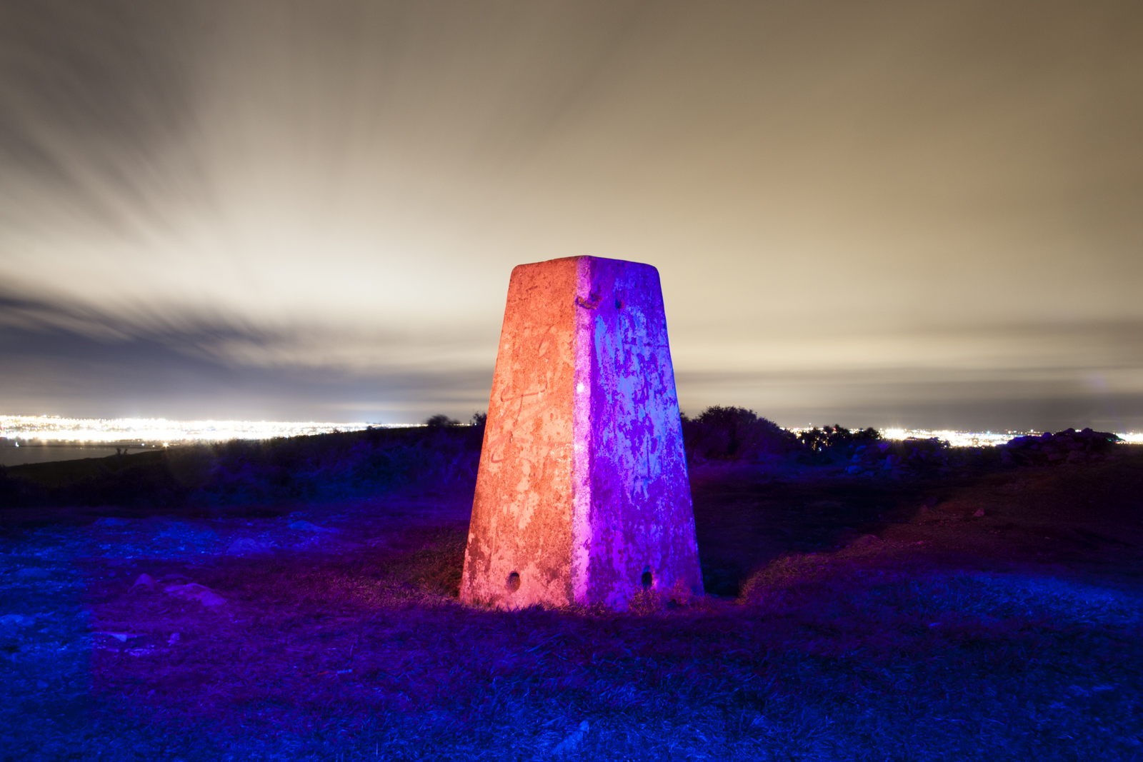 Karl Leonard, Chroma by night #1: Ordnance Survey Stone