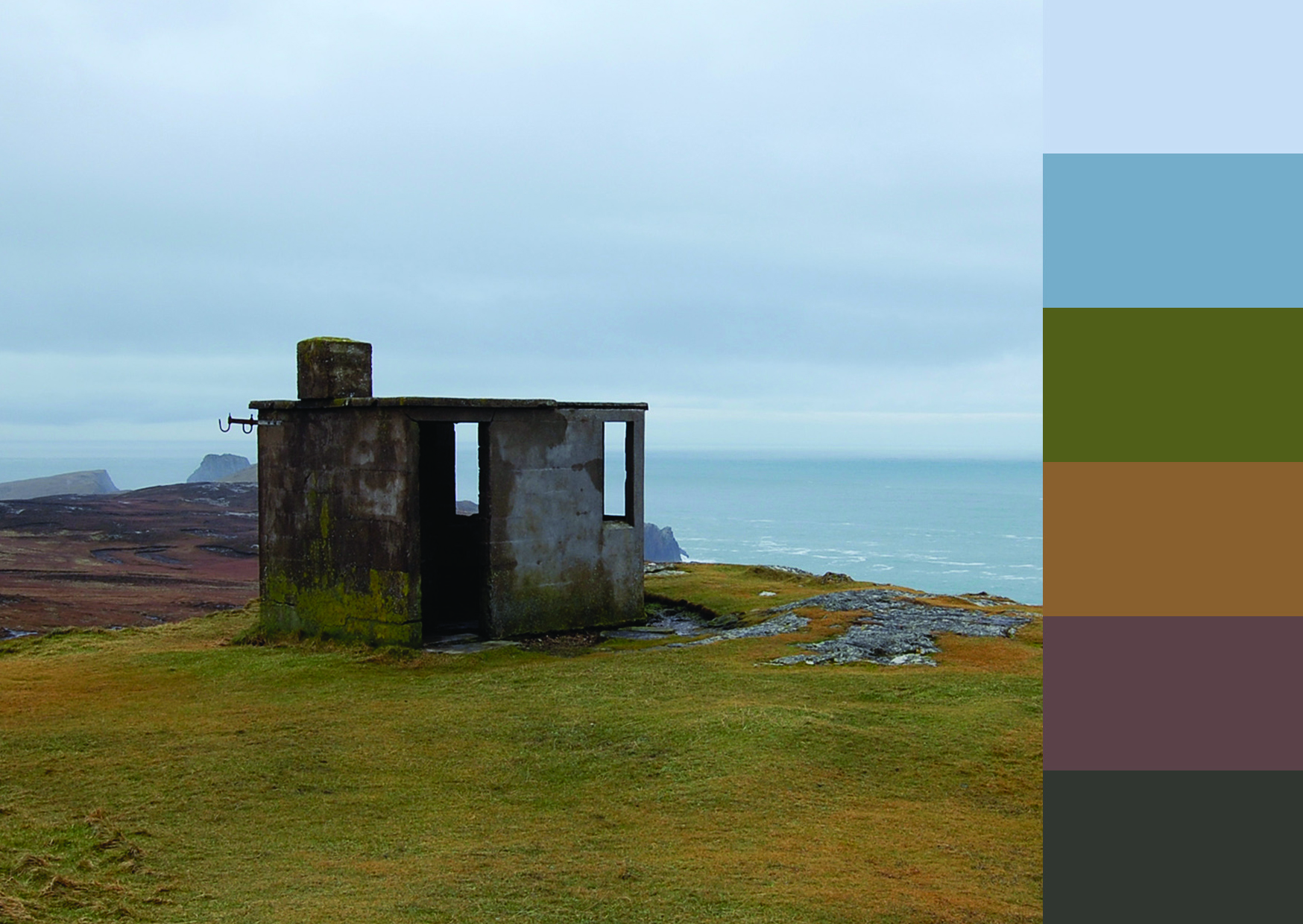 Paula Barrett, Colour Samples: Ireland: Malin Head